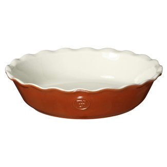 "Emile Henry Emile Henry - Pie Dish 9"" - Pumpkin Orange"