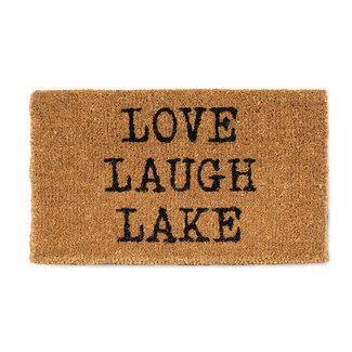 Abbott Doormat - Love, Laugh, Lake