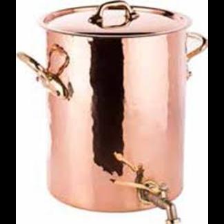 Mauviel MAUVIEL- Copper Stock Pot with Spigot