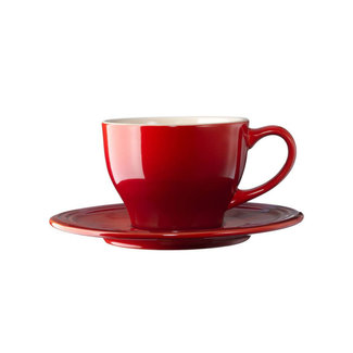 Le Creuset Le Creuset - 7 oz. Cappuccino Cup and Saucer Set of 2