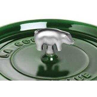 Staub Staub Changeable Stainless Steel Knob -  Pig