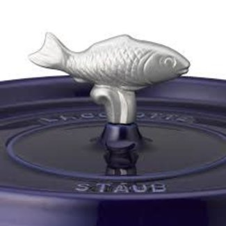 Staub Staub Changeable Stainless Steel Knob - Fish
