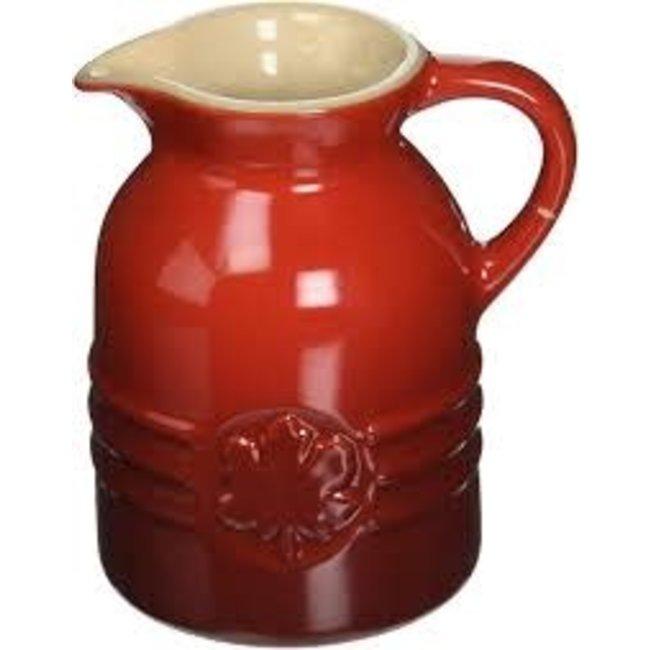 Le Creuset Le Creuset 8 oz. Syrup Jar- Cerise