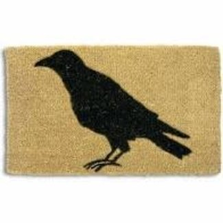 TAG Doormat- COIR Black Crow Basic