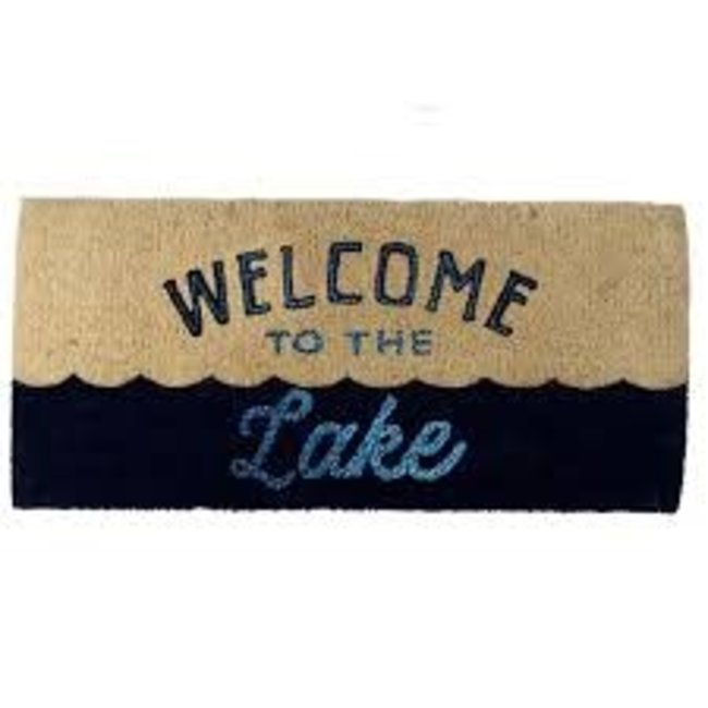 TAG Doormat Estate Size - Welcome to the Lake