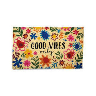 Doormat- GOOD VIBES Floral