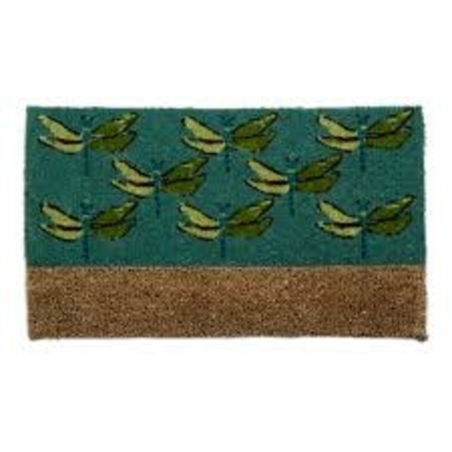 Tag Doormat with Boot Scrape- Dragonfly Boot Scrape