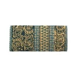 Doormat Estate Size - Neela Block Print Aqua