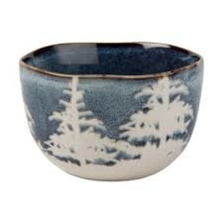 Snack Bowl- Midnight Blue Forest
