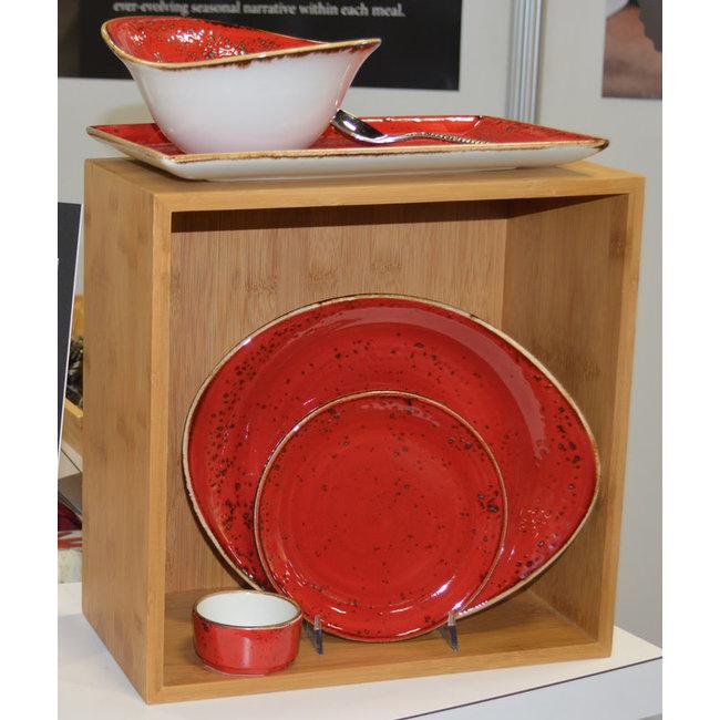 """Steelite 12"""" Plate- Craft Red"""