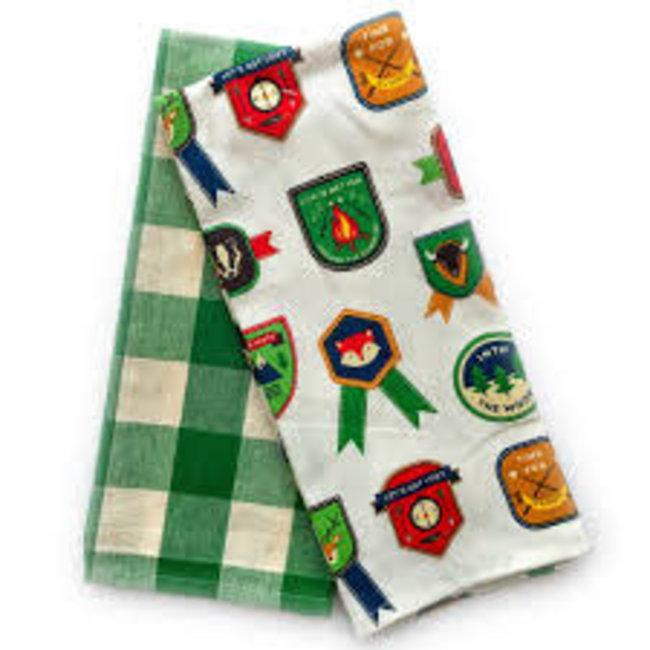 Now Designs Now Designs Tea Towels set of 2- Explore More