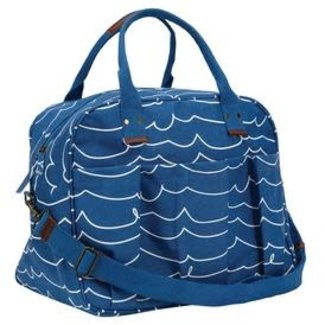 RockFlowerPaper Overnighter Bag - Coastal Waves