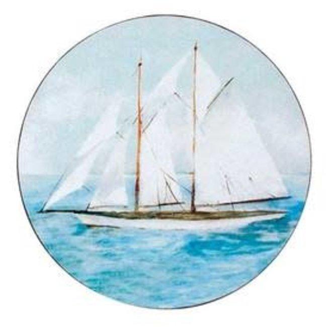 RockFlowerPaper Coasters Set of 4 - Summer Sail