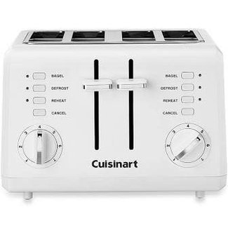 cuisinart Cuisinart 4-Slice Compact Toaster - White