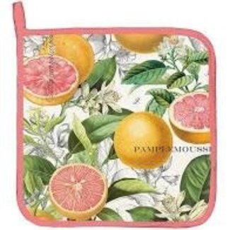 Michel Design Works Potholder- Pink Grapefruit
