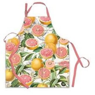 Michel Design Works MDW Apron- Pink Grapefruit