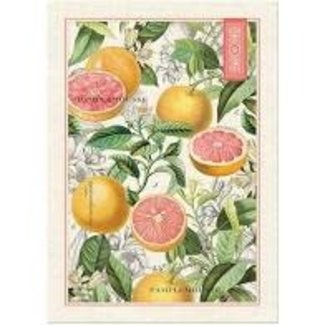 Michel Design Works Tea Towel- Pink Grapefruit
