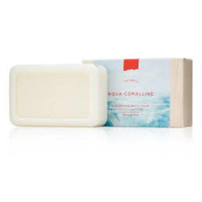 Thymes Thymes Bar Soap - Aqua Coralline