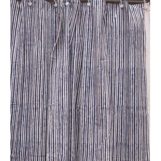 Natural Habitat Shower Curtain - Ribbon Blue