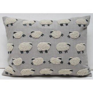Natural Habitat Pillow 12x16 - Sheep
