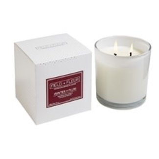 Hillhouse Naturals Hillhouse Naturals 2 Wick Candle - Winter Plum
