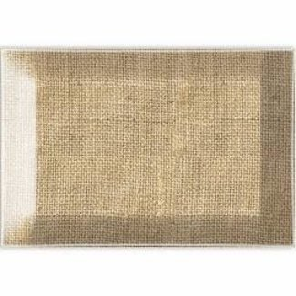 Michel Design Works MDW Rectangular Glass Soap Dish- Burlap