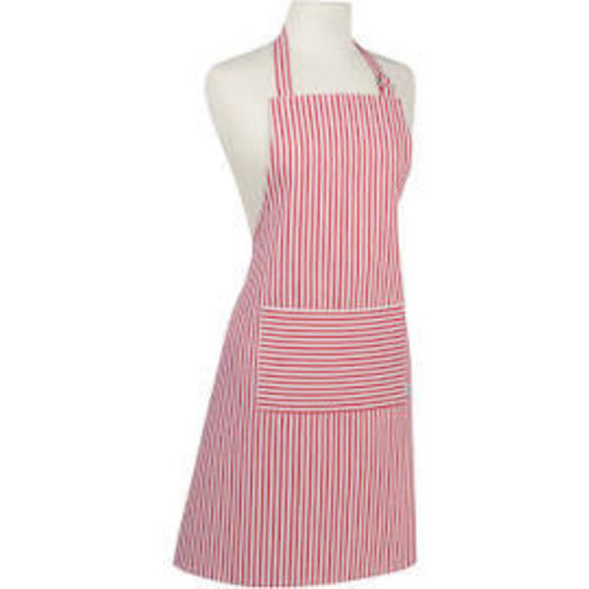 Now Designs Now Designs Apron Chef Narrow Stripe Red