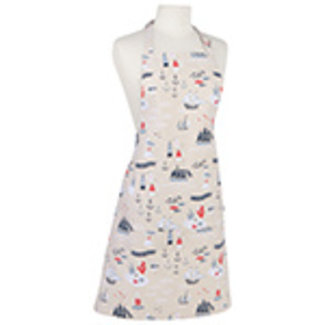 Now Designs Now Designs Apron - Fish And ships