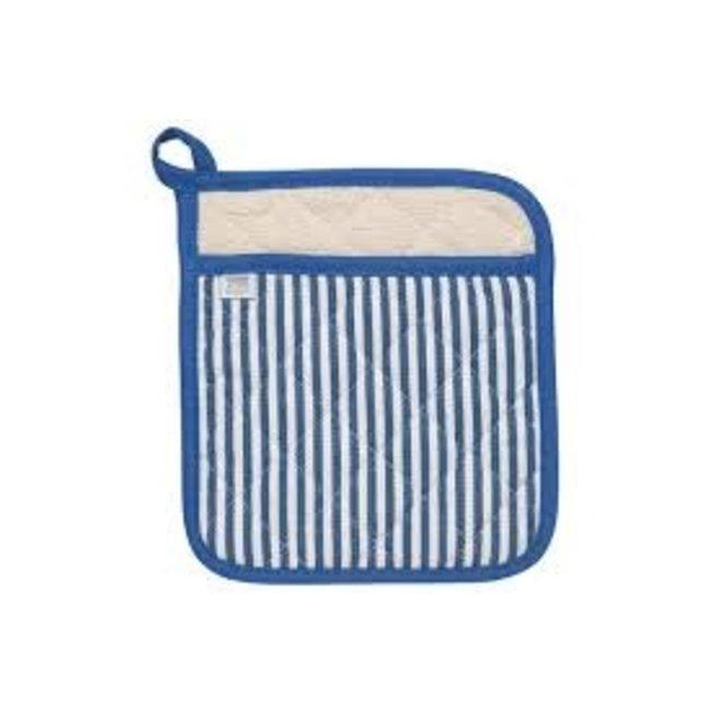 Now Designs NOW DESIGNS-Potholder Superior Narrow Stripe Blue
