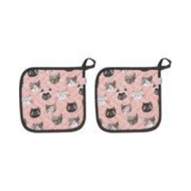 Now Designs NOW Designs Potholder Basic- Cats Meow