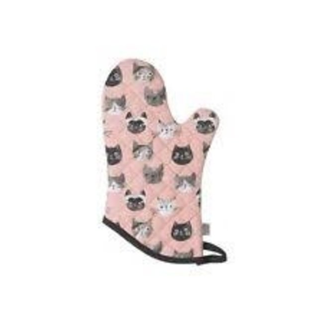 Now Designs NOW Designs Oven Mitt Basic- Cats Meow