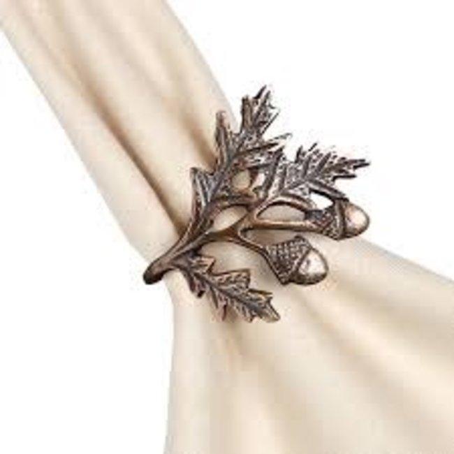 DII Napkin Ring- Acorn Oak