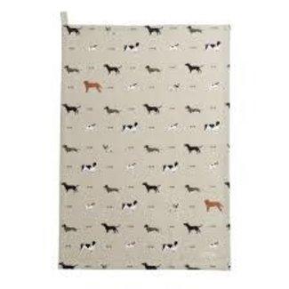 Sophie Allport Sophie Allport Tea Towel - Woof