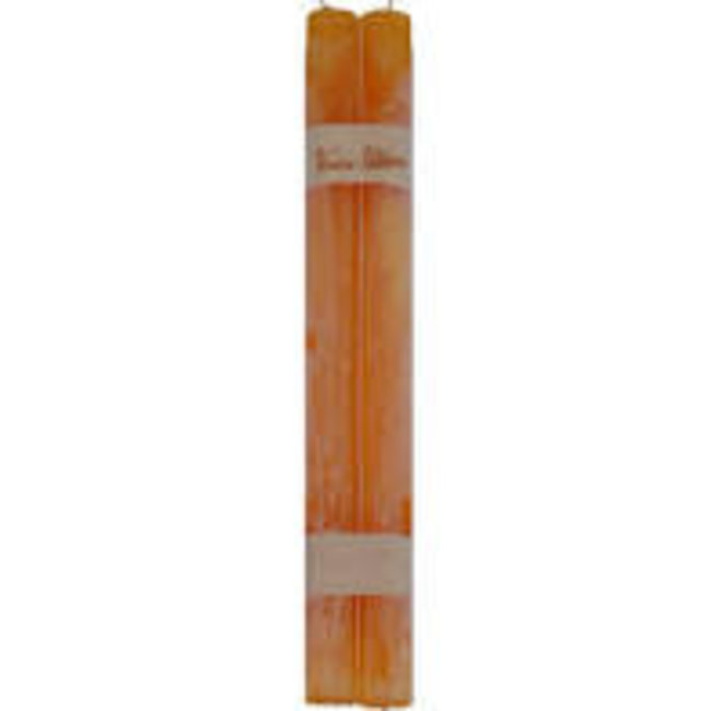 Vance Kitira Timber Taper Candle (Set of 2) -  Pumpkin