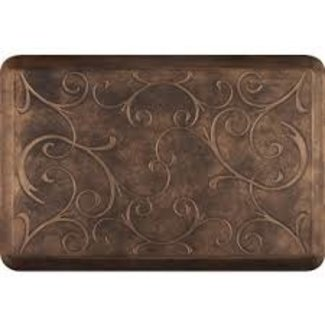 Wellness Mats Wellness Mat 2x3  Bella  - Burnished Copper