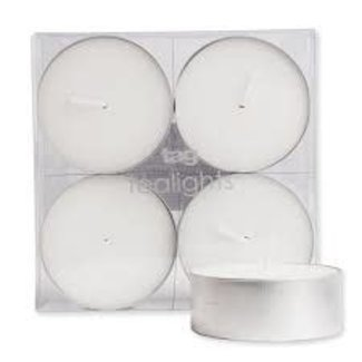 Tag UNSCENTED Jumbo Tealight Candles SET/4