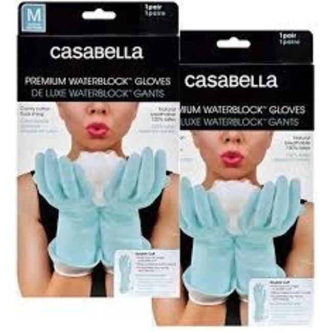 Casabella Casabella- WaterBlock Premium Gloves SMALL/Aqua