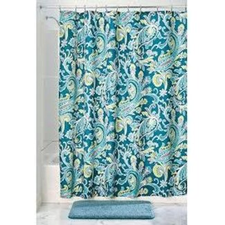Interdesign Fabric Shower Curtain -  Harper Paisley