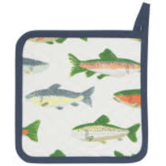 Now Designs Now Designs Pot Holder - Gone Fishing