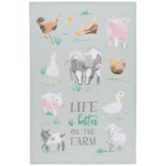 Now Designs Now Designs Tea Towel- Farmhouse
