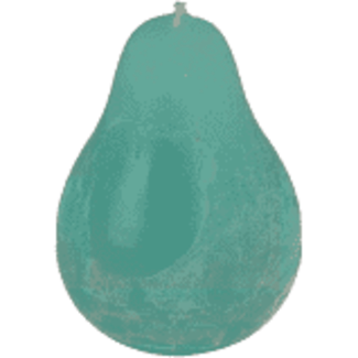 Vance Kitira Pear Candle - Turquoise