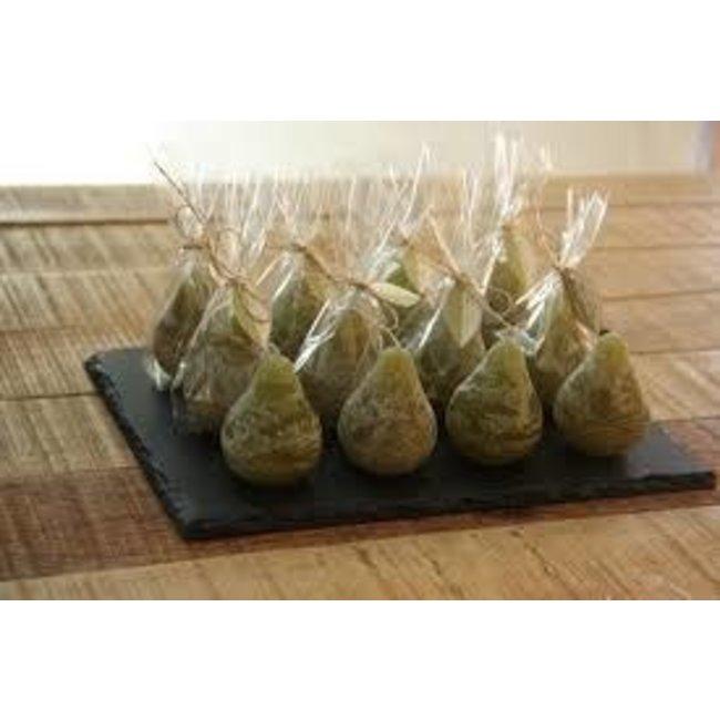 Vance Kitira / Sullivans  Mini Pear Candle- Moss