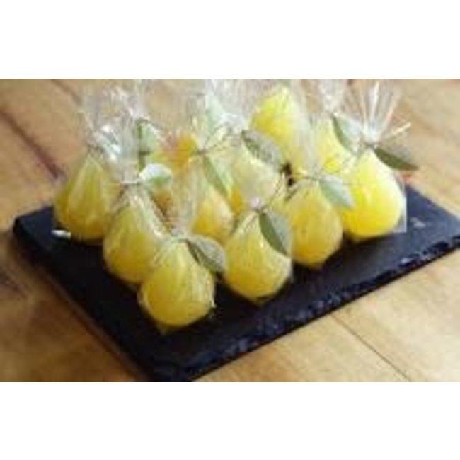 Vance Kitira Mini Pear Candle- Pale Yellow