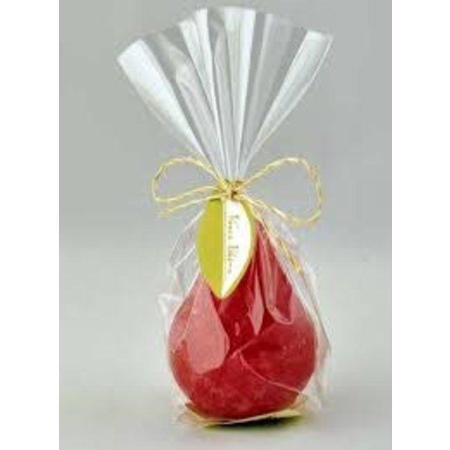 Vance Kitira Mini Pear Candle- Cranberry