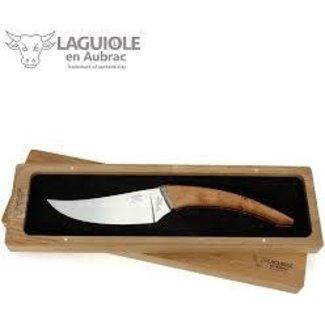 Laguiole Laguiole en Aubrac Le Buron Cheese Knife - Olive Wood
