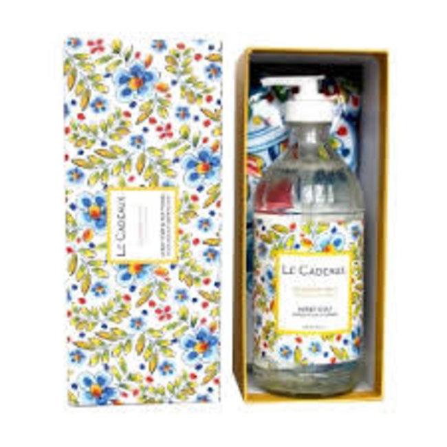 Le Cadeaux Le Cadeaux Hand Soap And Tea Towel Gift Set - Rosemary & Mint