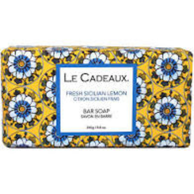 Le Cadeaux Le Cadeaux Bar Soap - Fresh Sicilian Lemon