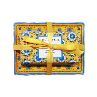 Le Cadeaux Le Cadeaux Bar Soap Set - Fresh Sicilian Lemon