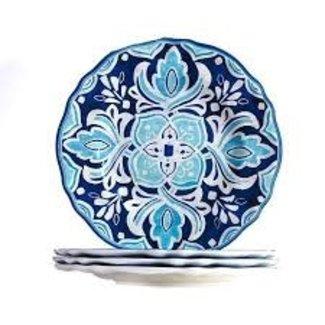 Le Cadeaux Le Cadeaux Appetizer Plate Set Of 4 -  Havana
