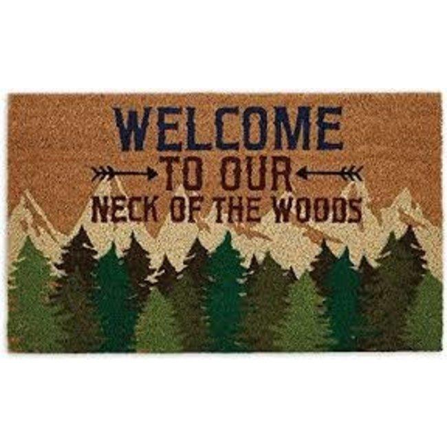 DII Doormat - Welcome Woods